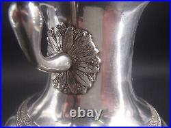 Rare Verseuse Tripode En Argent Massif Poincon Coq Paris 1809 Bec Tete De Chien