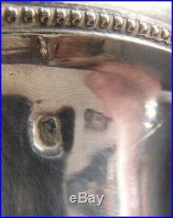 Rare Verseuse Tripode En Argent Massif Poincon Vieillard Paris 1819 Bec Cygne
