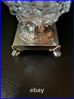 Salerons argent 950, Époque Empire (1810), poinçon 2ème Coq de Paris 1er titre