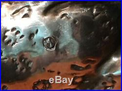 Statuette Leopard En Argent Massif 999 Signé Tenba Ncube Poincon 235 Gr