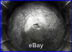 Sucrier Argent Massif Poinçon MINERVE 566,5 gr M. Oeuvre HB Chiffré MP