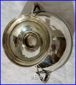 Superbe coupe de mariage couverte en argent, poinçon vieillard 1er titre, 503 g
