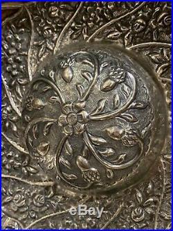 Tasse a hamam Ottoman en argent massif 19e siècle (poinçon Tughra)