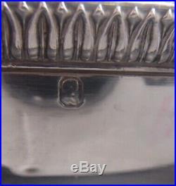 Tres Beau Legumier Argent Massif Poincon Vieillard Paris 1819 Modele Aux Cygnes