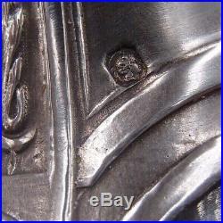 Tres Belle Aiguiere En Argent Massif Poincon Minerve Et Cristal Decor Louis XVI